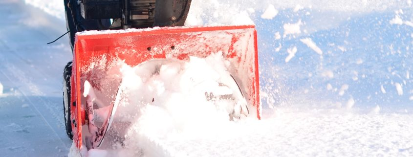 Winter Gritting Services by Grass Barbers in London and Surrey