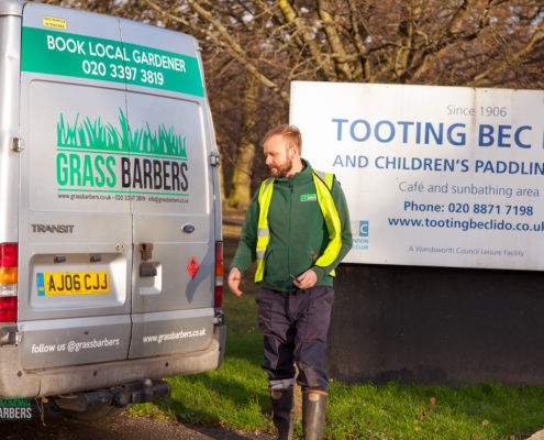 Grass Barbers Gardening in Tooting