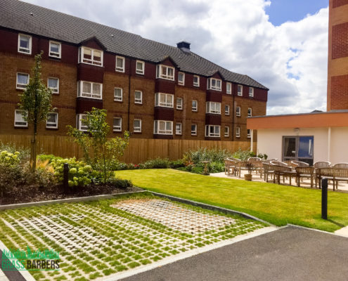 Grounds Maintenance of Retirement Development Project in Sidcup DA14